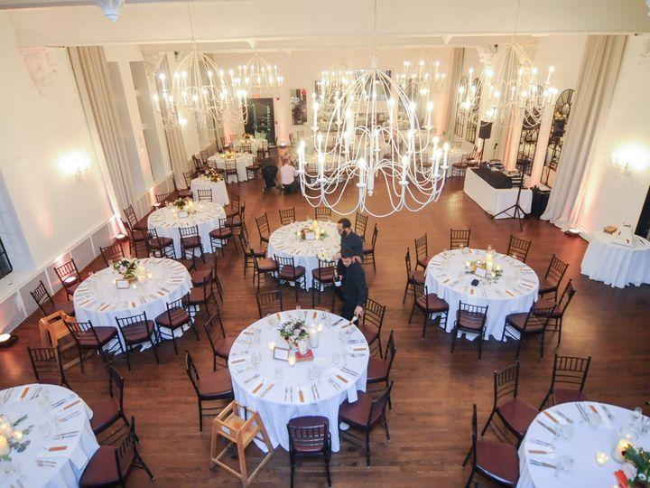 Tmx Alden Castle Vintage Ballroom Bright Photo Reception Set From Above Edson Dias Photography 51 3759 Brookline, MA wedding venue
