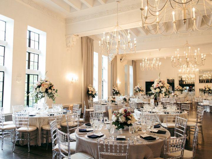 Tmx Alden Castle Vintage Ballroom Silver Rounds Room And Window Shot Baileyqphoto 51 3759 158464307819174 Brookline, MA wedding venue