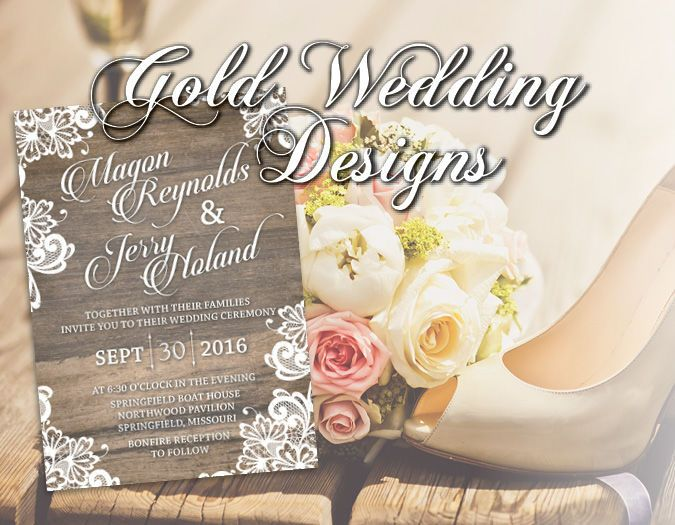 1b05bbf102dddc38 Gold Wedding Designs Logo