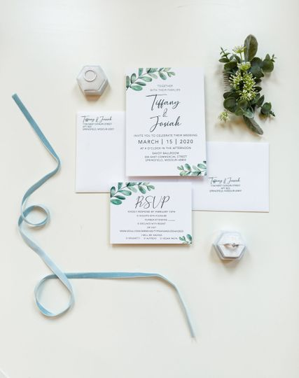 Custom Invitation Set