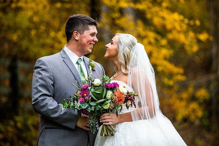 Ben and Aurora's wedding