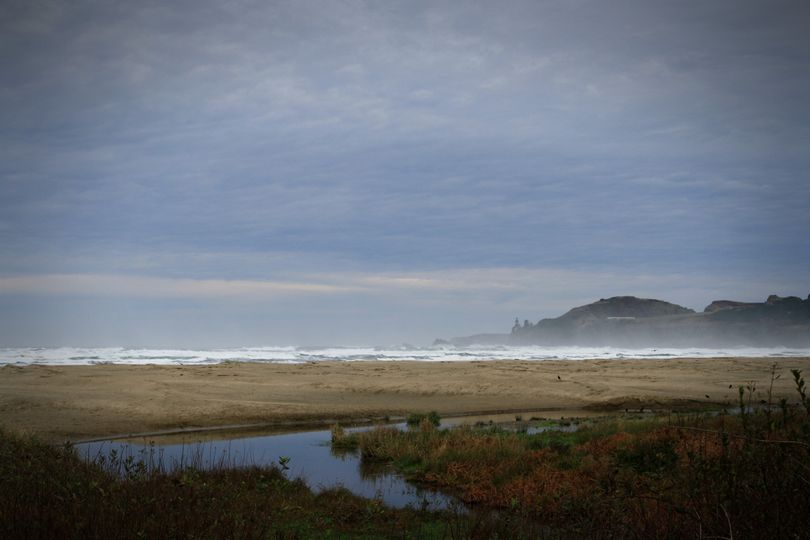 Agate Beach and  Pacific Ocean