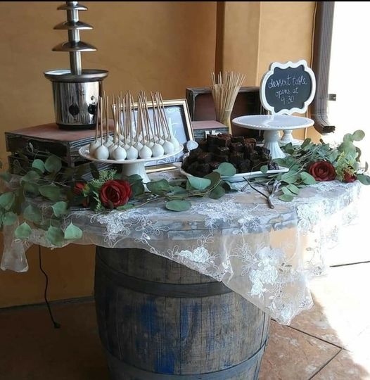 Shabby Chic Dessert Table