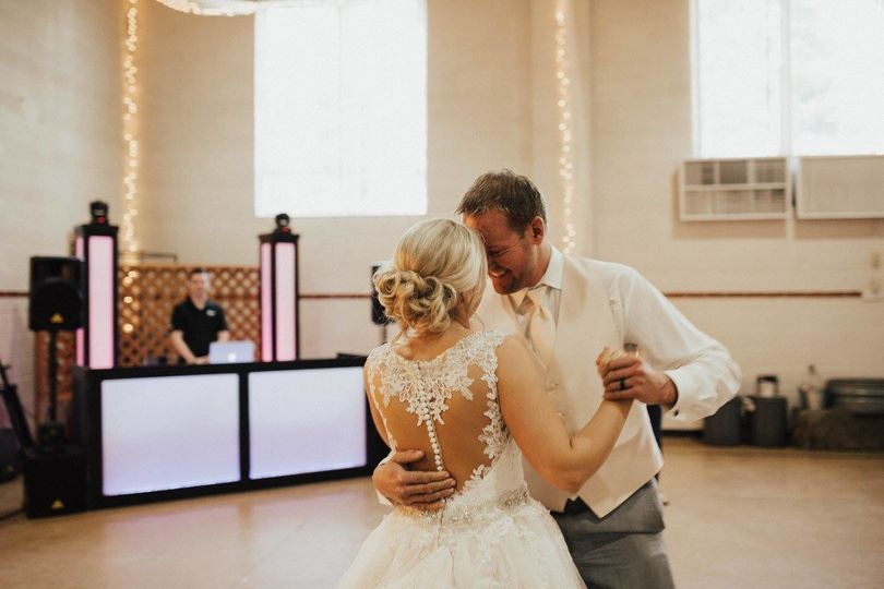 Dancing with the bride|  Darrian Marie Photography