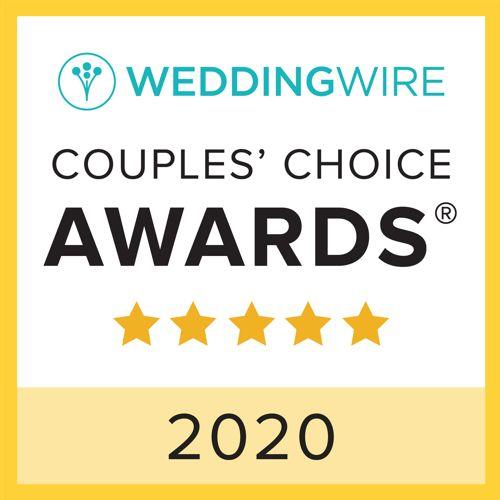 Won Wedding Wire Award 2020!