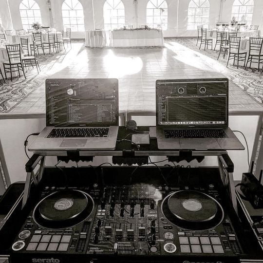 The DJ's view
