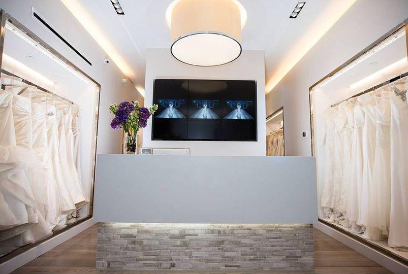 Wedding Atelier Dress Attire New York NY WeddingWire