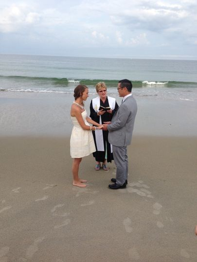 Beach Wedding Michael and Margarette