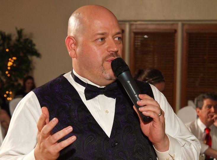 Wedding DJ in action