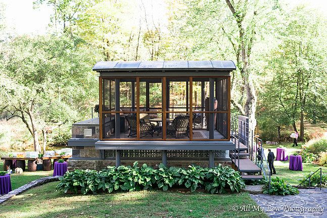 Breathtaking gazebo