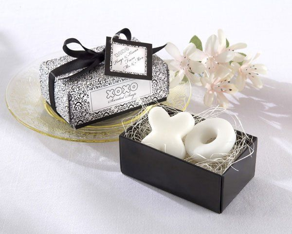 Hugs and Kisses From Mr. and Mrs. Soaps - $3.85  This charming, vintage gift box holds two...