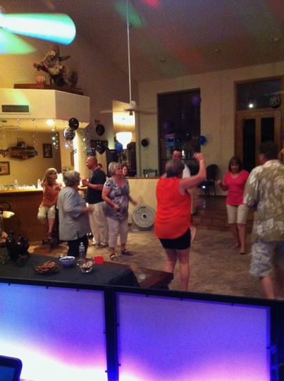 Dancing at Mike's 60th.