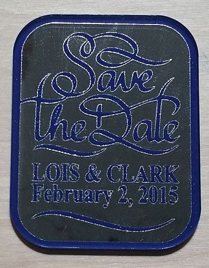 save the date magnet lois and clark