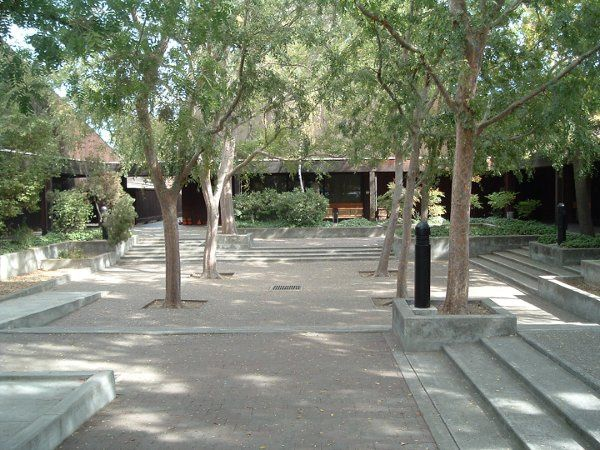 Veterans Memorial Center Courtyard