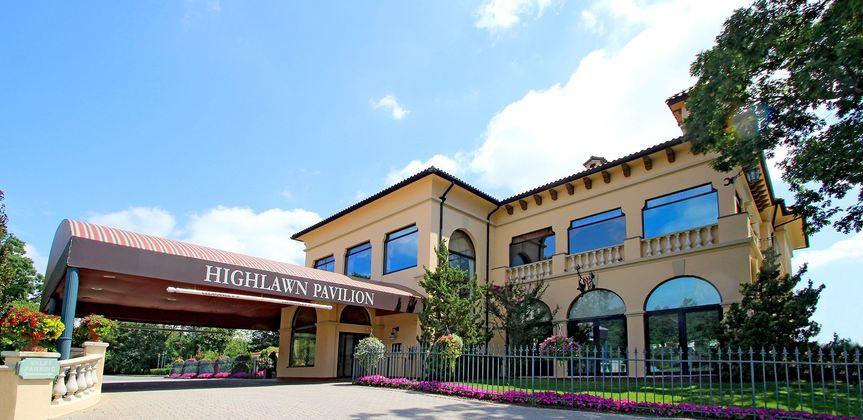 Highlawn Pavilion Entrance