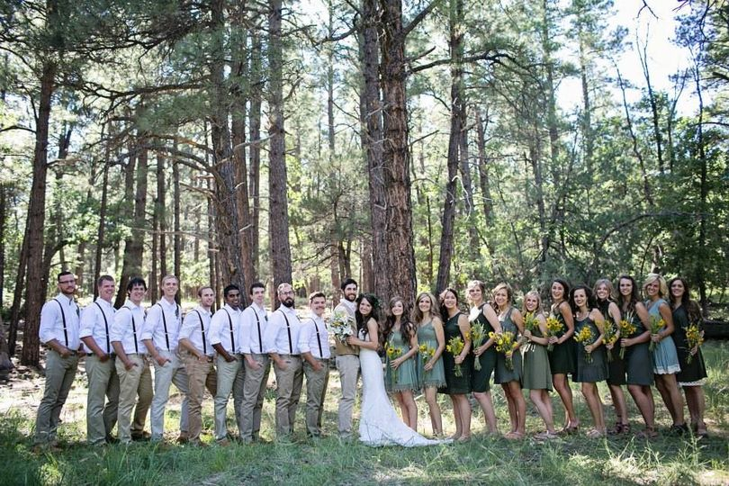 lg wedding party