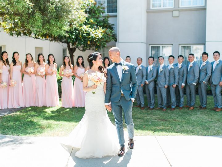 Tmx Bridal Party Photo Courtyard 51 143859 159400363064097 San Mateo, CA wedding venue