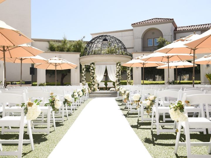Tmx Courtyard Ceremony Set Up 51 143859 159414563914560 San Mateo, CA wedding venue