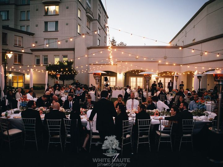 Tmx Courtyard Reception Bistro Lighting 2 51 143859 159400933460380 San Mateo, CA wedding venue