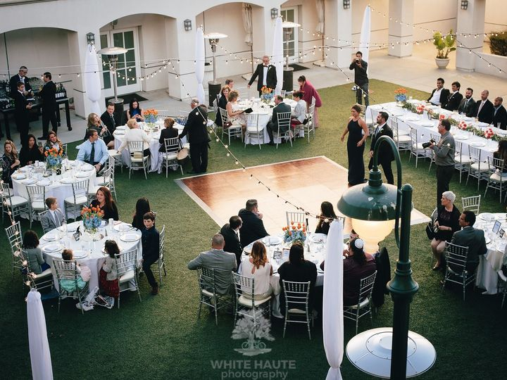 Tmx Courtyard Reception With Dance Floor 51 143859 159399419372125 San Mateo, CA wedding venue