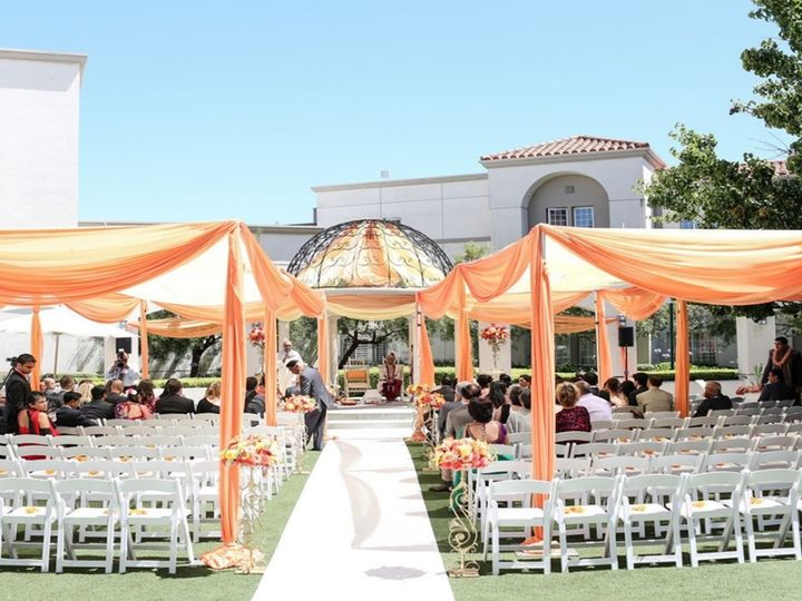 Tmx Courtyard With Shade Drapes 51 143859 159399570714599 San Mateo, CA wedding venue