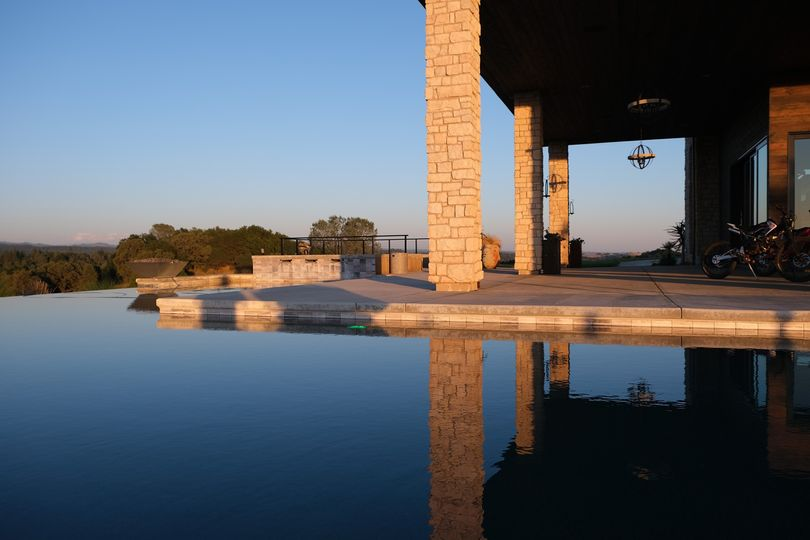 Infinity Pool at the Estate
