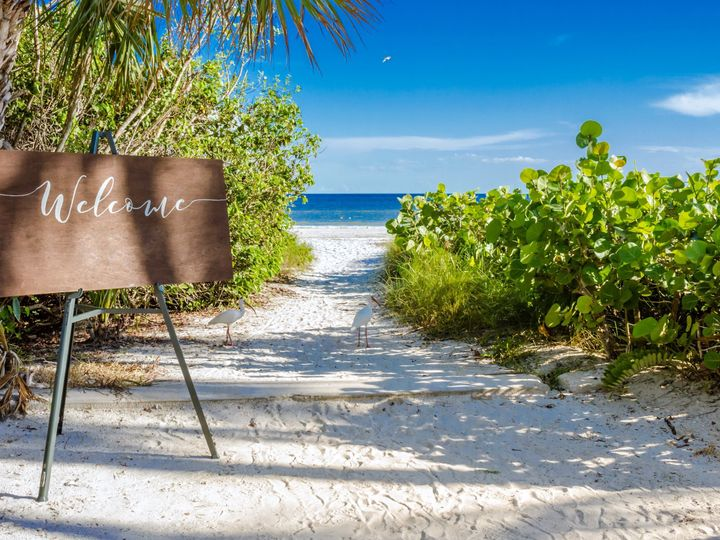 Tmx Beach Ceremony Entrance 51 414859 Sanibel wedding venue