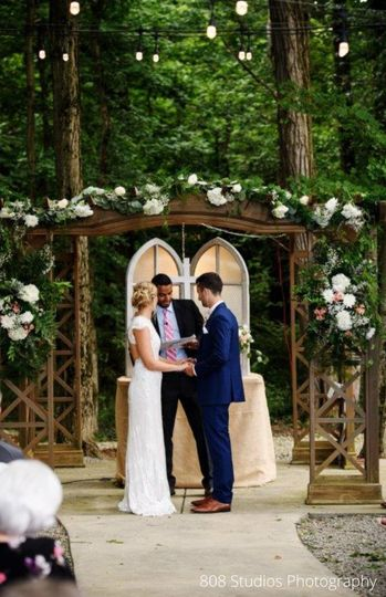 Beautiful Ceremony Pergola