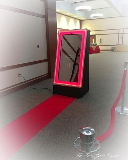 Red Carpet Set Up