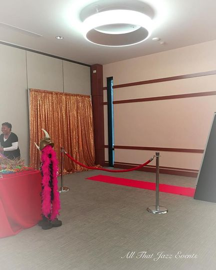 Red Carpet Set Up 1