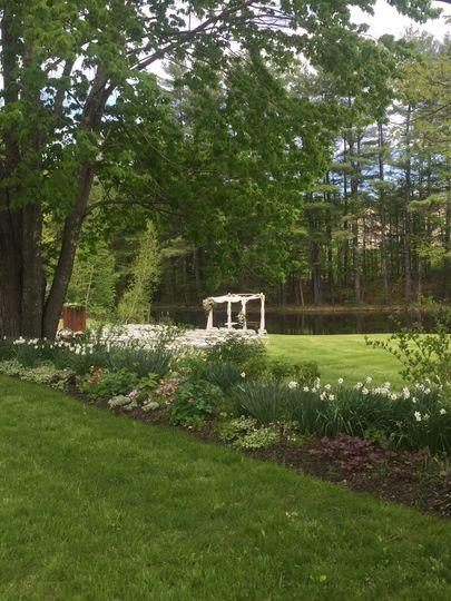 Garden/ceremony location