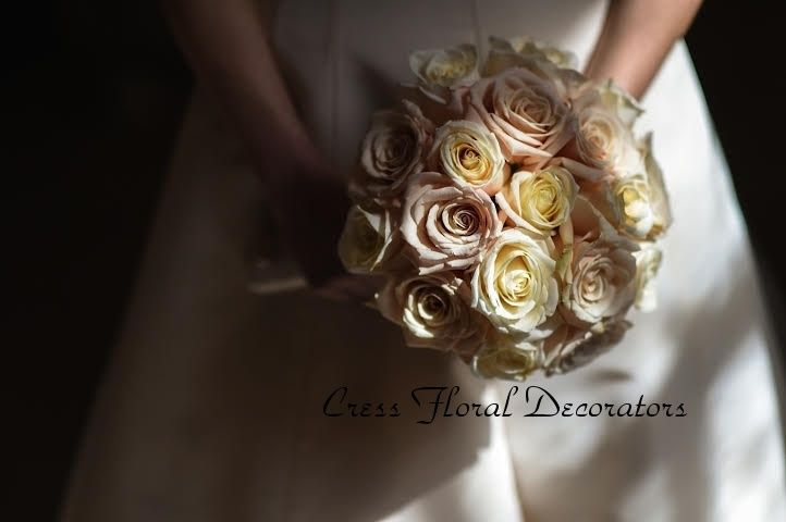 Cress Floral Bouquet in Sun