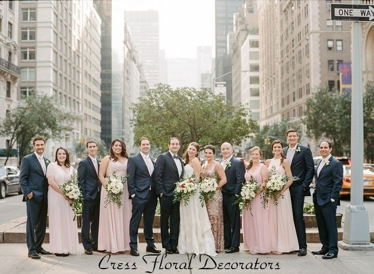 Cress Floral Bridal Party