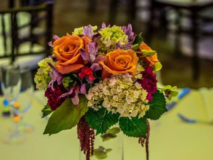 Tmx 1403522090131 Culpeper Center Tablepiece Culpeper, VA wedding florist