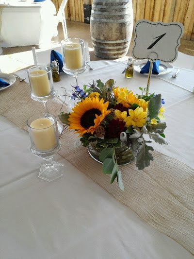 Tmx 1438565450683 Culleton Centerpiece And Candles Culpeper, VA wedding florist