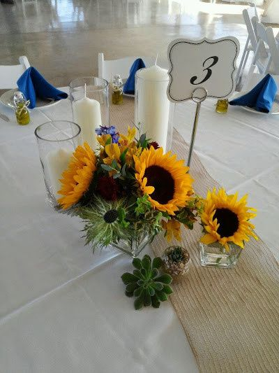 Tmx 1438565452530 Culleton Centerpiece Culpeper, VA wedding florist