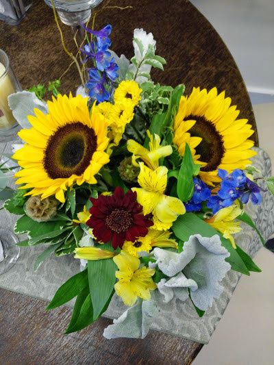 Tmx 1438565471649 Sunflower Centerpiece Culpeper, VA wedding florist