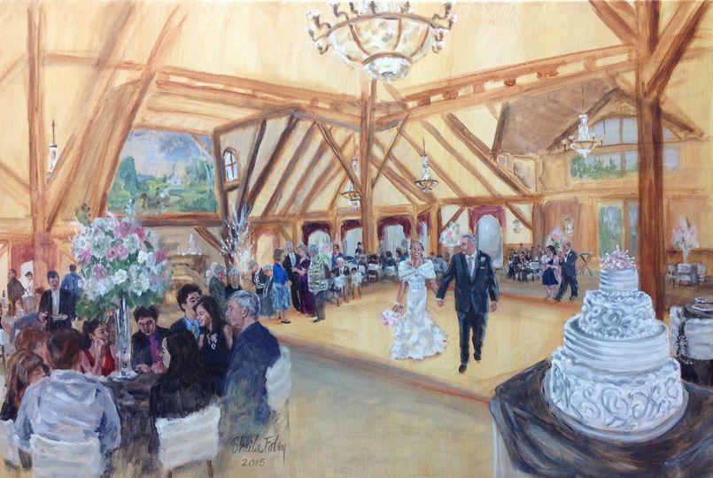 Winter wedding, Tewksbury, MA