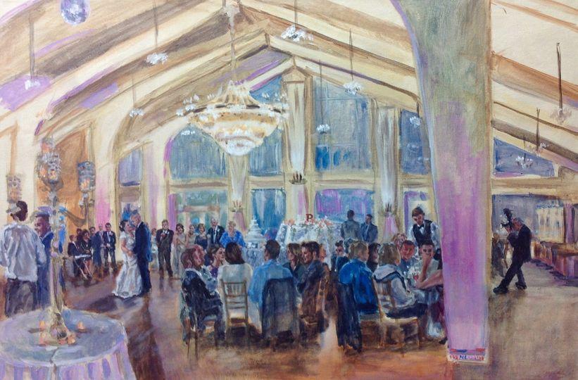 Wedding reception Danversport Yacht Club