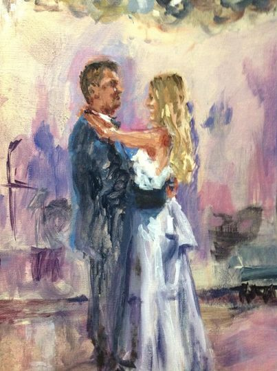 Fine Artist and Live Event Painter