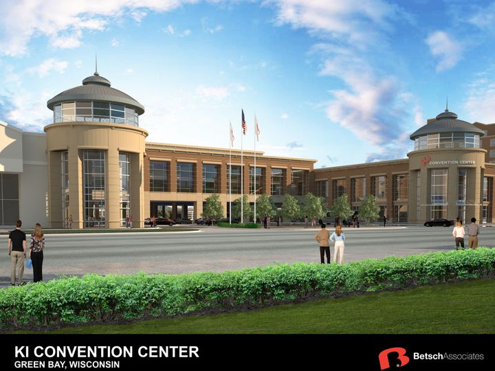 Tmx 1450726230330 Ki Convention Center Rendering 2 Green Bay, Wisconsin wedding venue