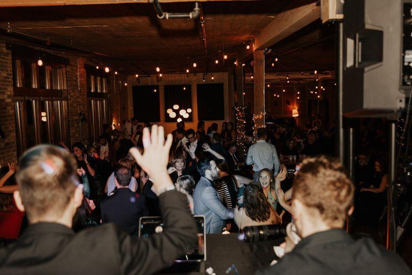 An amazing coffee bar wedding