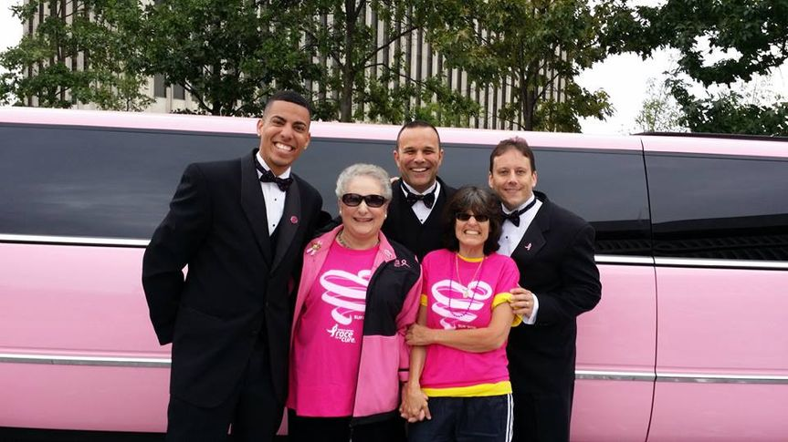 Walk for a Cure! Pink Escalade