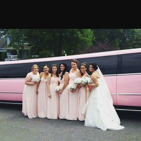 20 Passenger Pink Escalade