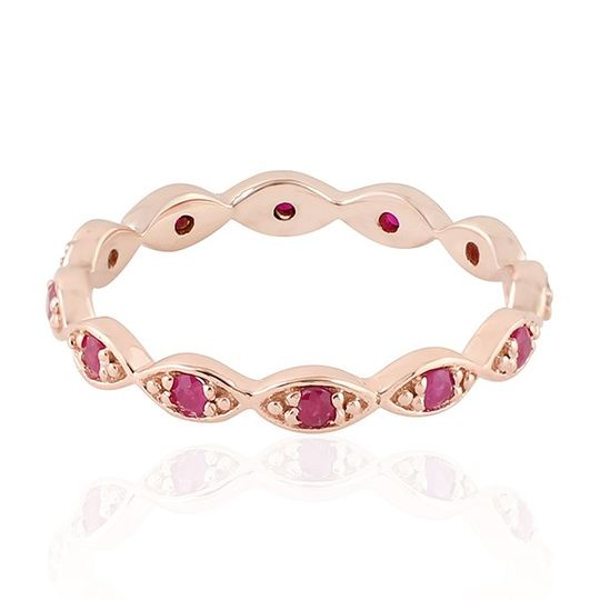 Eternity Band In Ruby