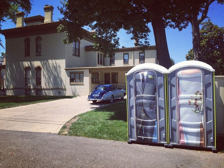 a1 wedding porta potties