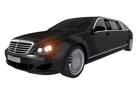 luxury benz limo