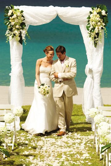 four seasons resort nevis beach wedding