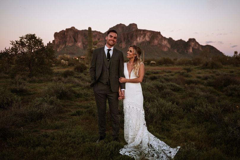 Arizona Wedding Portrait