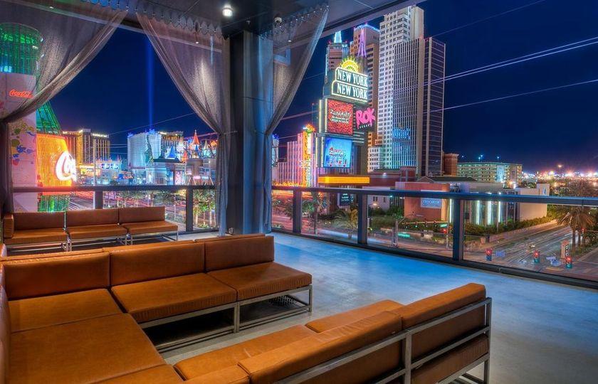 Hard Rock Cafe Las Vegas Strip Map